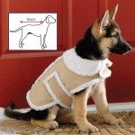 Shearling Fleece Dog Winter Coat